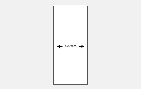 127mm Slat Width Large Vertical Blinds