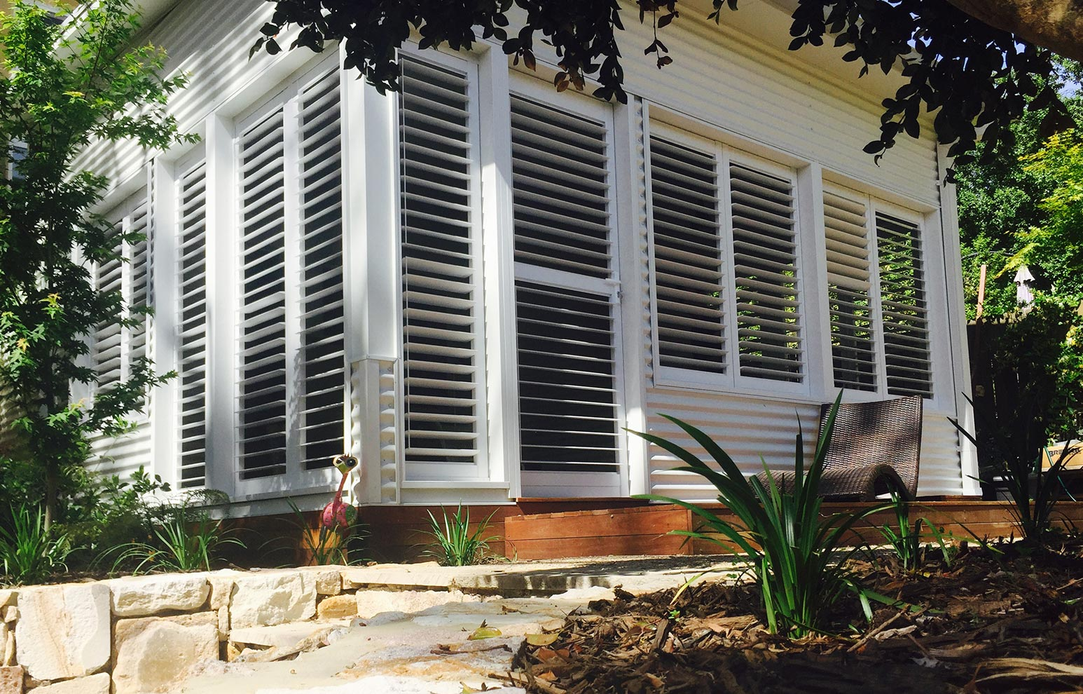 Fixed Outdoor Shutters