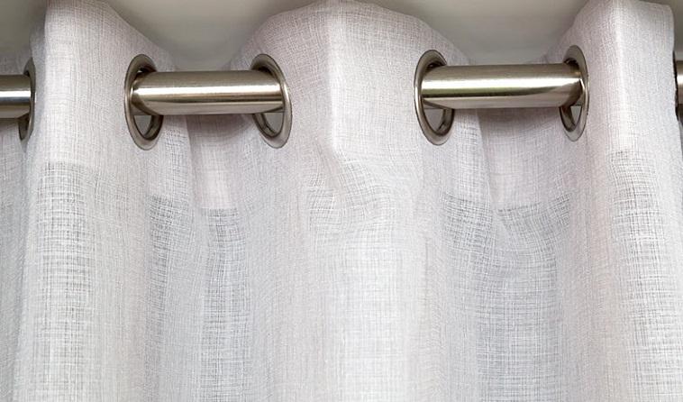 Eyelet Sheer Curtains