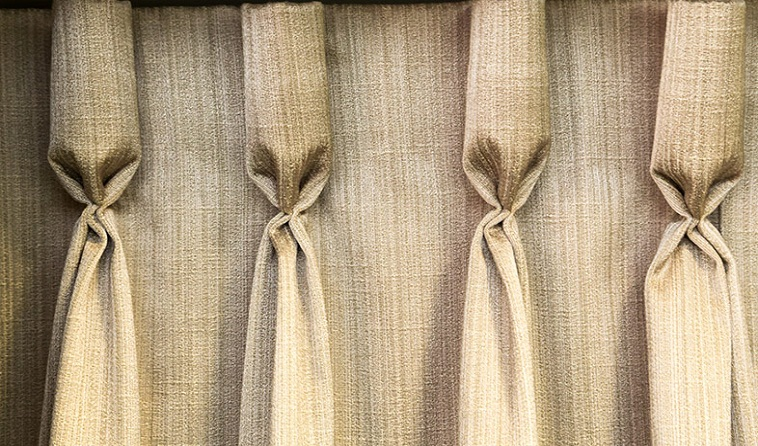 Goblet Pleat Theater Curtains