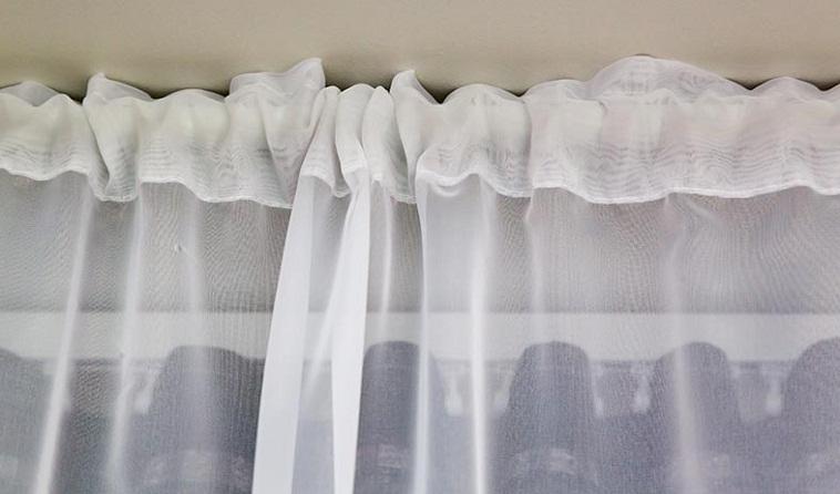 Rod Pocket Sheer Curtains