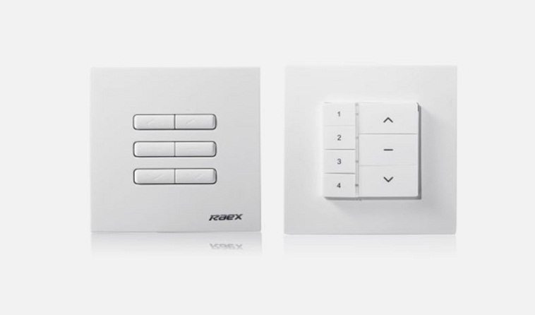 Wall Mounted Curtain Remote