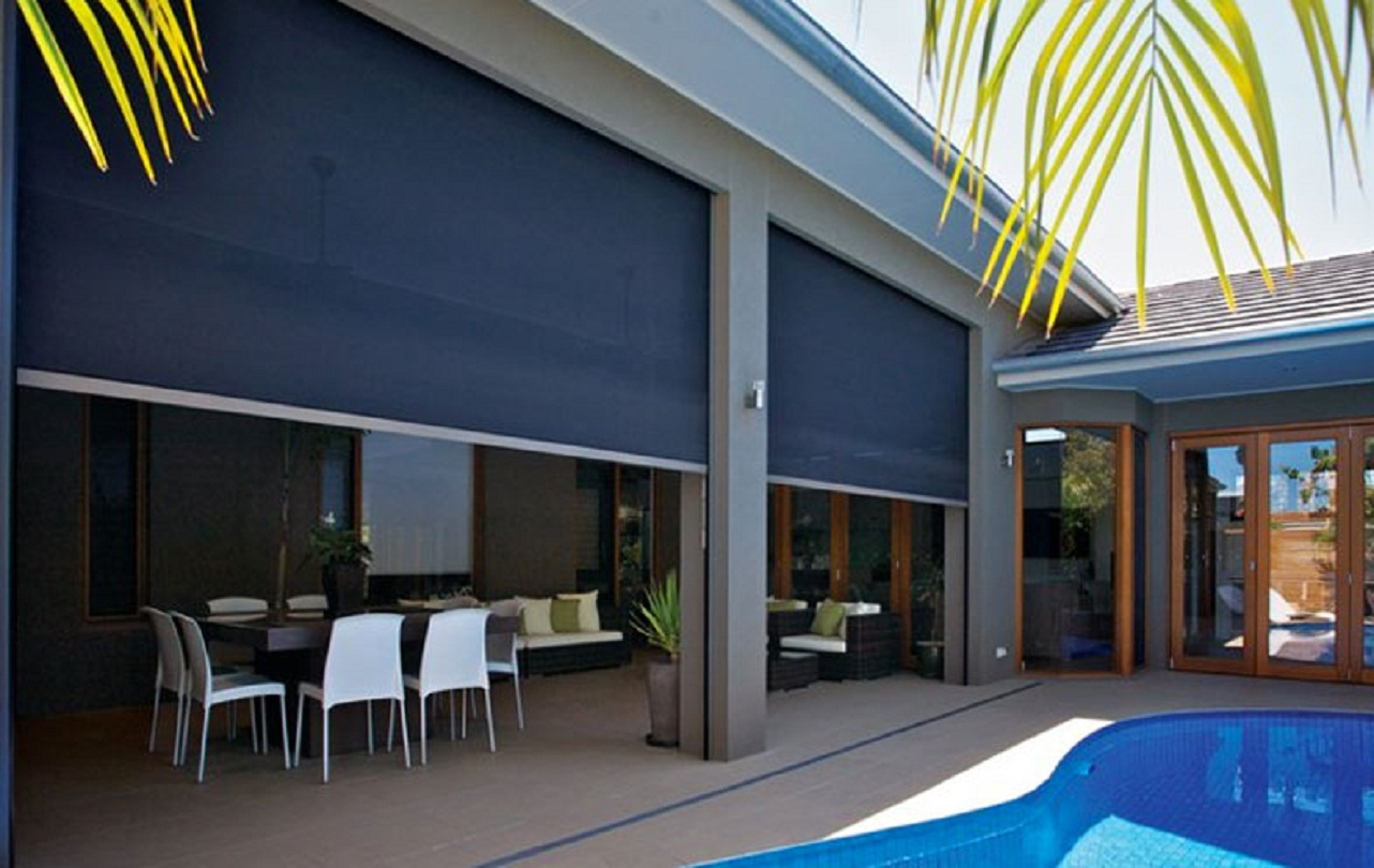 Mesh Channel Awning
